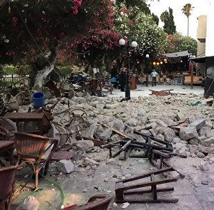 ძლიერი მიწისძვრის შედეგები თურქეთსა და საბერძნეთში