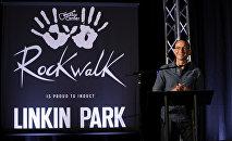 Вокалист рок-группы Linkin Park Честер Беннингтон