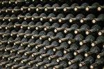 Винный погреб одного из винных заводов Грузии