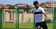 Левый защитник сборной Грузии по футболу Георгий Наваловски