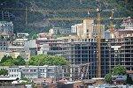 Строительство здания в рамках проекта Панорама Тбилиси