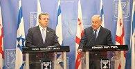 Георгий Квирикашвили и Беньямин Нетаньяху