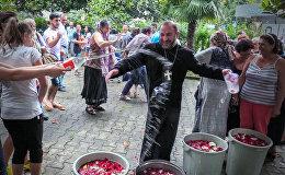 Вардавар в Батуми: как в курортном городе отметили армянский праздник