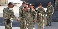 Ротация грузинских военных в Афганистане