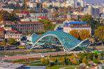 Мост Мира в Тбилиси