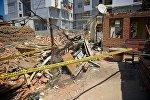 Обрушение жилого дома на улице Сухумской