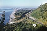 Побережье Черного моря в районе Кобулети