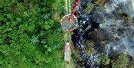 Пожар в лесу Арджеванидзе