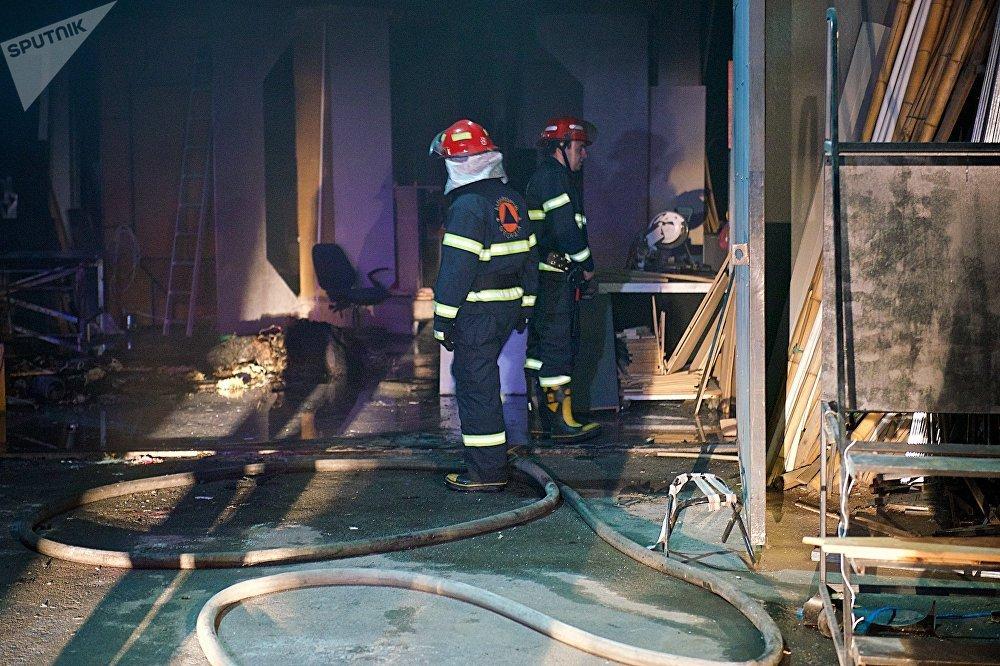 В короткие сроки, благодаря своевременным действиям пожарных, очаг возгорания был ликвидирован