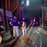 В результате пожара в здании телекомпании Рустави 2 пострадало несколько десятков квадратных метров площади