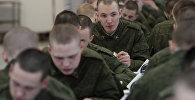 Шведский стол в Российской Армии