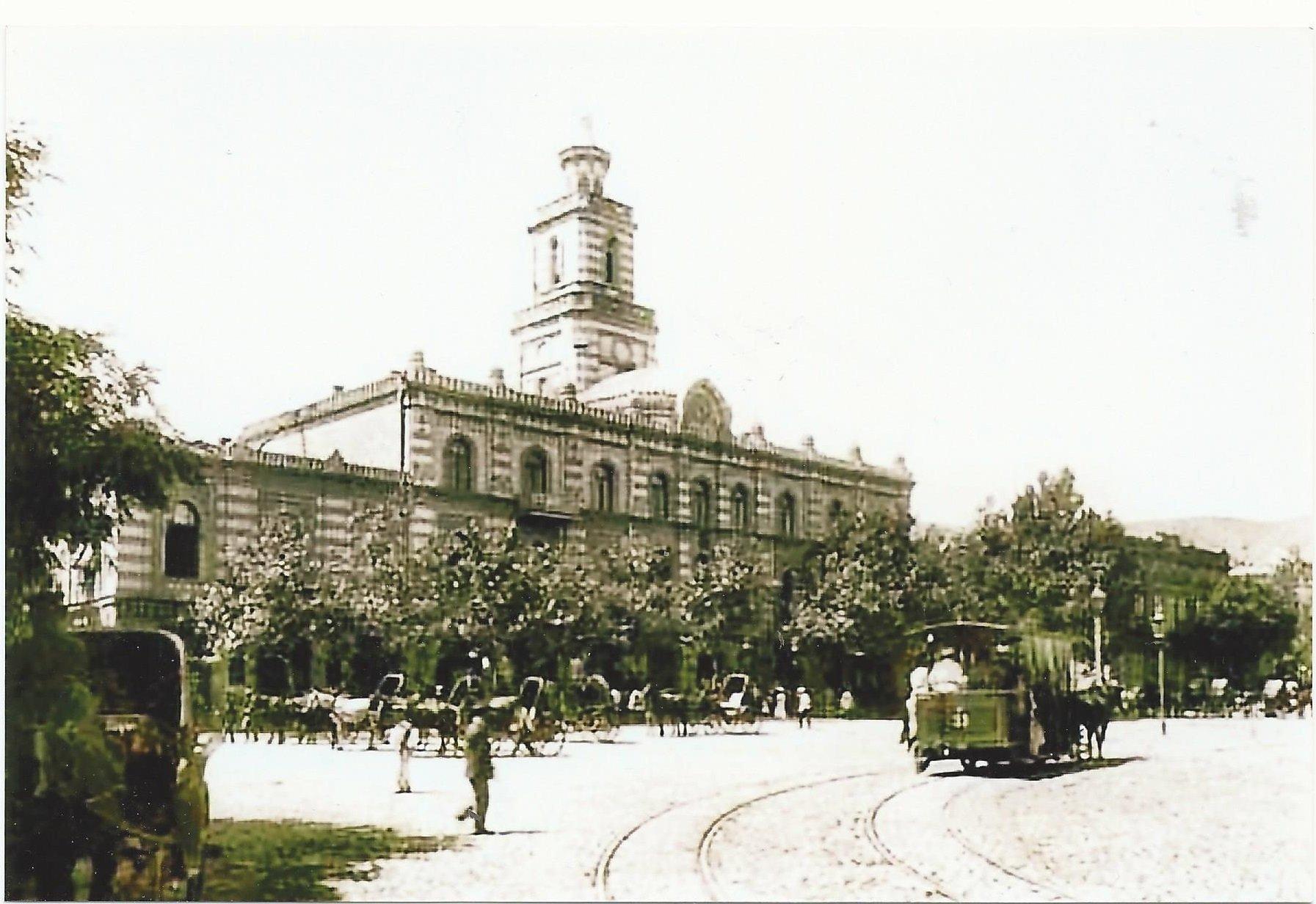 Эриванская площадь, где происходил знаменитый экс