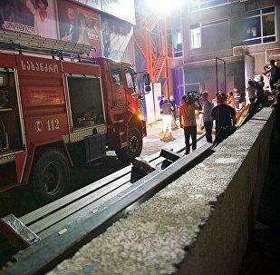 Рустави 2 в огне: как выглядит телекомпания после пожара