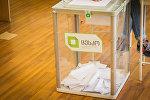Парламентские выборы в Грузии, избирательная урна