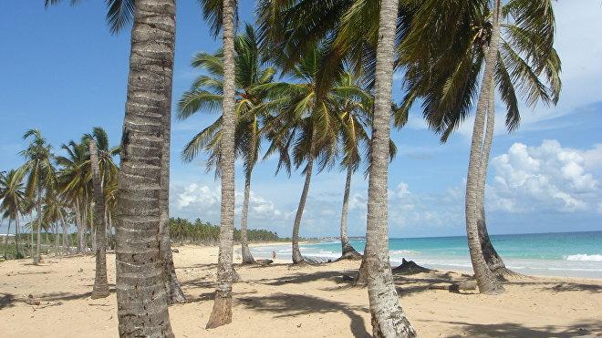 Пляж Доминиканской республики
