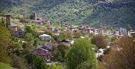 Посёлок городского типа Местиа в Грузии