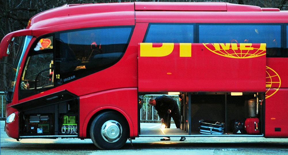 ВБолгарии зажегся автобус сроссийскими туристами, никто непострадал