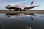 Самолёт авиакомпании Red Wings в аэропорту Домодедово
