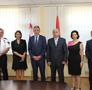 სომხეთის ეროვნული უშიშროების სამსახურის დელეგაცია საქართველოში