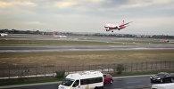 Пилот посадил аварийный украинский лайнер в турецком аэропорту