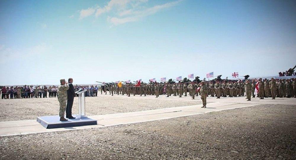 Военные учения стран НАТО стартовали вГрузии