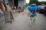 ტურისტები თბილისში