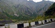 Военно-Грузинская дорога. Участок от поселка Степанцминда в Казбегском муниципалитете до грузино-российской границы