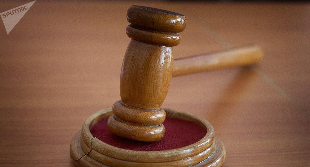 მოსამართლის ჩაქუჩი