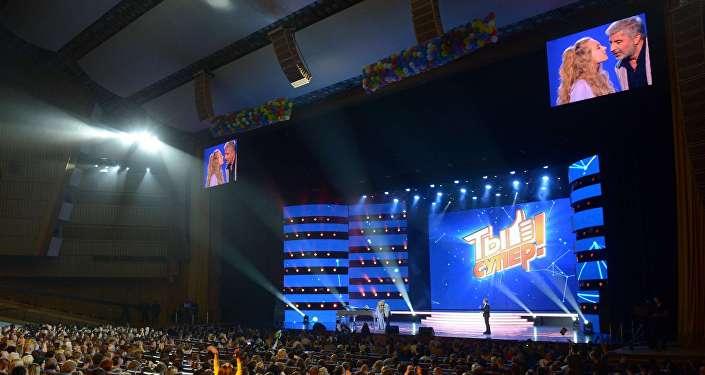 Финал конкурса Ты супер! в Государственном Кремлевском Дворце