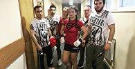 Профессиональный боец ММА Лиана Джоджуа после победы на Fight Nights Global 71
