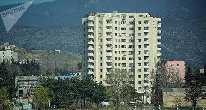 Новый дом на окраине грузинской столицы