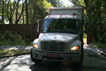 Автомобили посольства США покинули дачу в Серебряном Бору