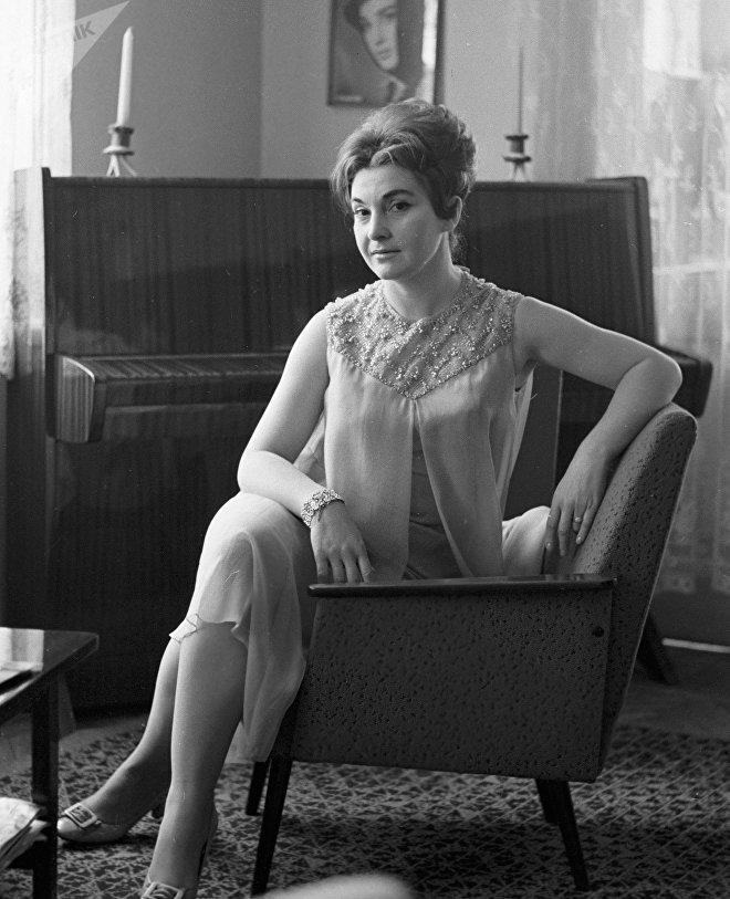 Грузинская актриса Лейла Абашидзе