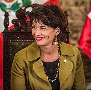 Президент Швейцарии Дорис Лойтхард