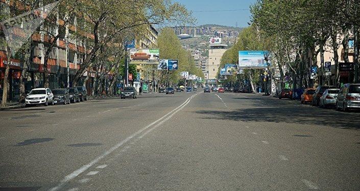 Улица Пекина в центре Тбилиси