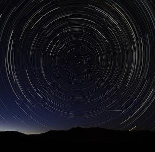 პერსეიდის მეტეორული ნაკადი ცაში