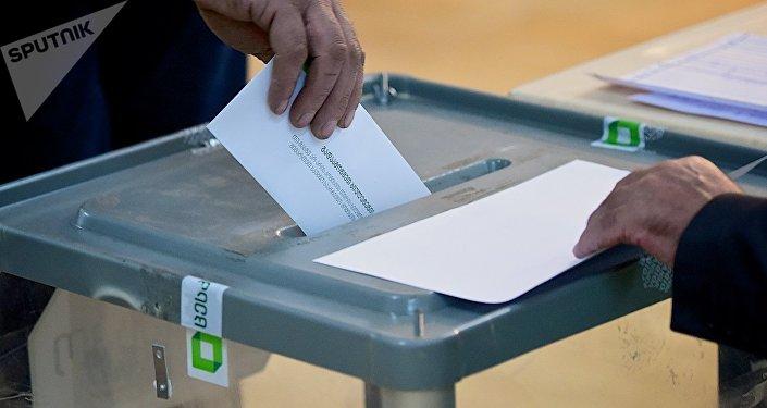 Парламентские выборы в Грузии - второй тур