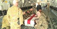 Тело погибшего в Афганистане военнослужащего доставили в Грузию