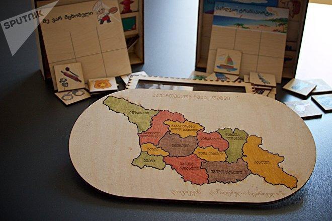 Грузинский стартап по производству деревянных игрушек Логикум