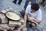 Узбекский день в Тбилиси: гостей угощали пловом, чак-чаком и самсой