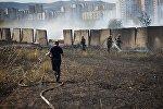 Пожар в Диди Дигоми
