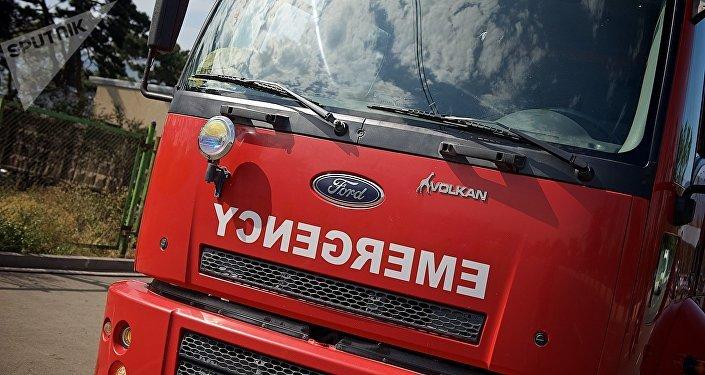 Пожар вгрузинском государственном парке вплоть доэтого времени немогут потушить
