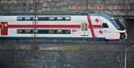Двухэтажный пассажирский поезд Тбилиси - Батуми