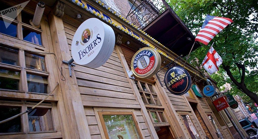 Кафе и рестораны в центре грузинской столицы