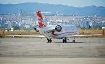 Airzena Georgian Airways-ის თვითმფრინავი