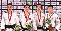 Грузинский дзюдоист Лука Капанадзе (-55 кг) завоевал серебряную медаль на юношеском чемпионате Мира