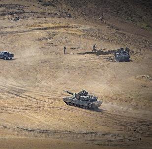 ვაზიანის პოლიგონზე Noble Partner სამხედრო წვრთნების ფარგლებში საბძროლო სროლები გაიმართა