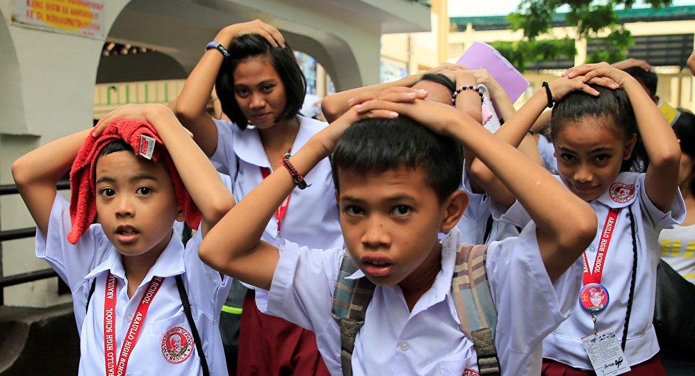 Накрупнейшем острове Филиппин случилось  землетрясение