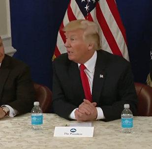 Трамп поблагодарил Путина за высылку дипломатов