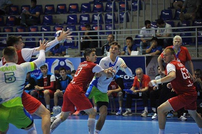 Юношеский чемпионат мира по гандболу: сборные России и Словении